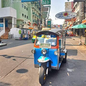 Tha Phra Arthit (Khao San Road)